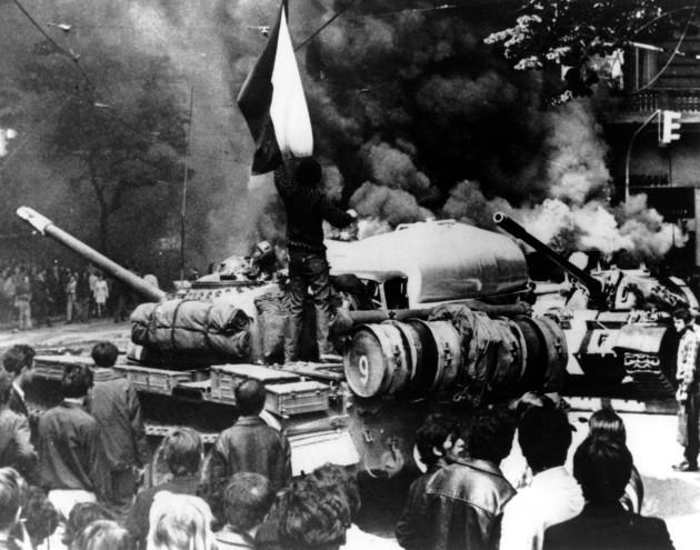 SOVIET INVASION PRAGUE