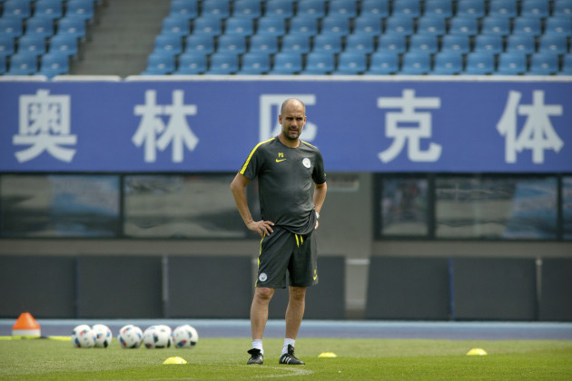 China Soccer Manchester City
