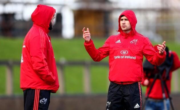 Felix Jones with Andy Farrell