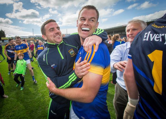 Alan Moloney celebrate