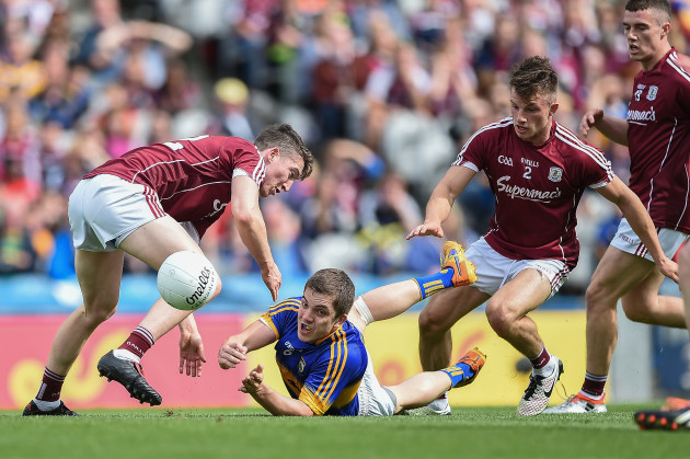 Colm O'Shaughnessy with Johnny Heaney and Eoghan Kerin