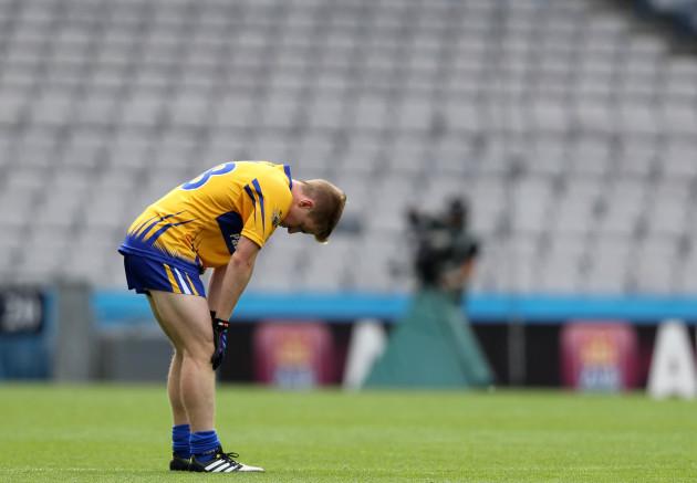 Podge Collins dejected