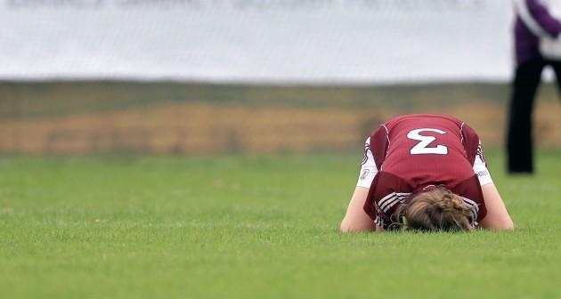 Noelle Connolly dejected