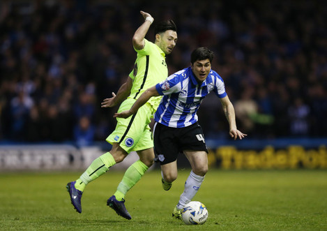 Sheffield Wednesday v Brighton and Hove Albion - Sky Bet Championship - Play Off - First Leg - Hillsborough