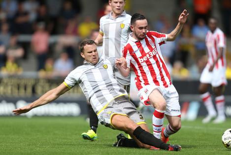 Burton Albion v Stoke City - Pre-Season Friendly - Pirelli Stadium