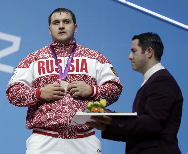 London Olympics Weightlifting Men