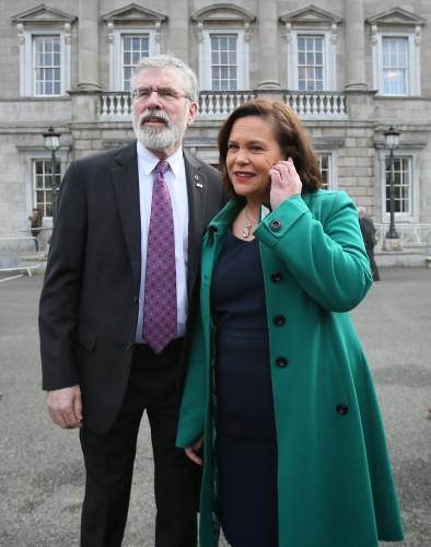 Irish parliament sits