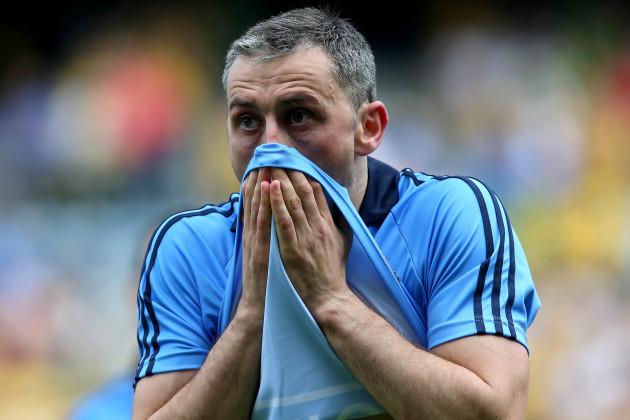 Alan Brogan dejected