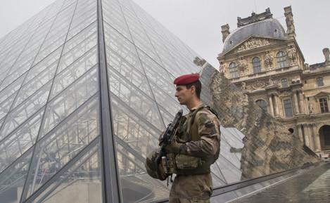France Paris Attacks On Patrol
