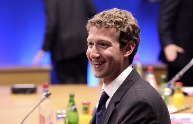 Mark Zuckerberg hacking