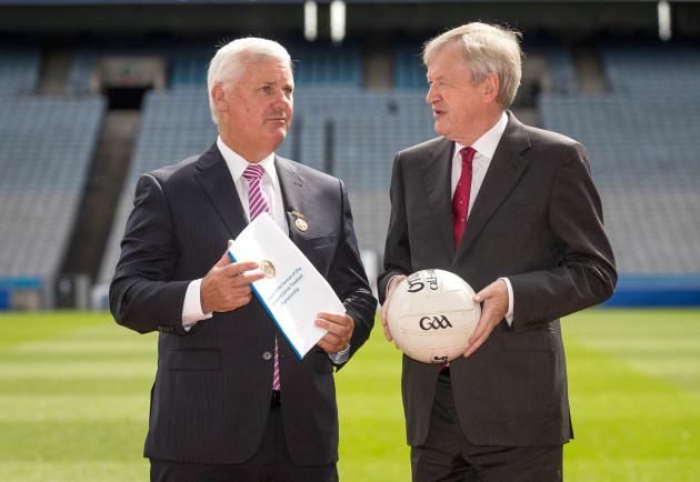Aogan O'Fearghail and Paraic Duffy
