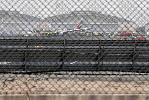 Mideast Dubai Airport Incident