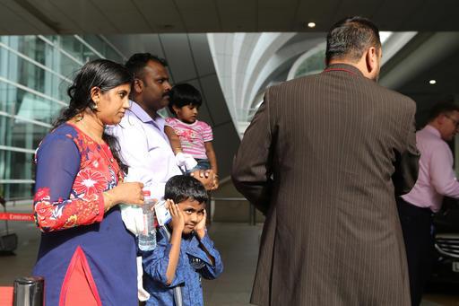 APTOPIX Mideast Dubai Airport Incident