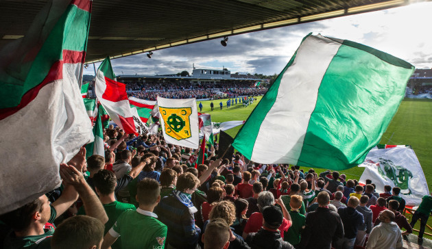 Cork City supporters