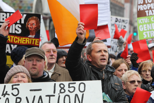 13/4/2013 National Protests against Austerity Measures