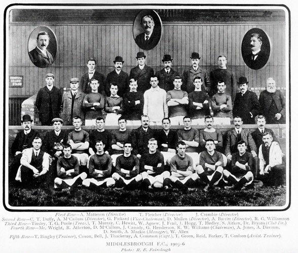 Soccer - Middlesbrough