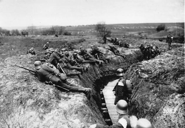 WWI GERMAN TROOPS
