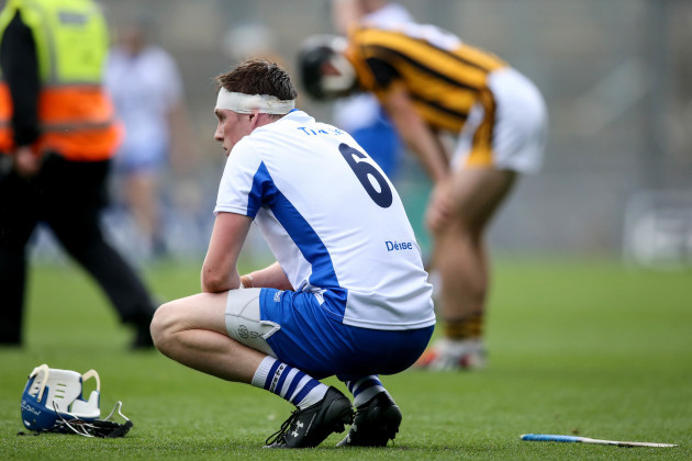 Austin Gleeson dejected after the game