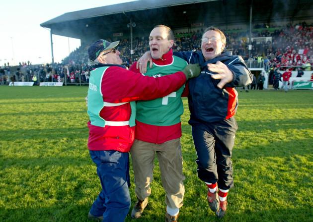 Paddy Clarke, Gerry McEntee and Sean Doyle