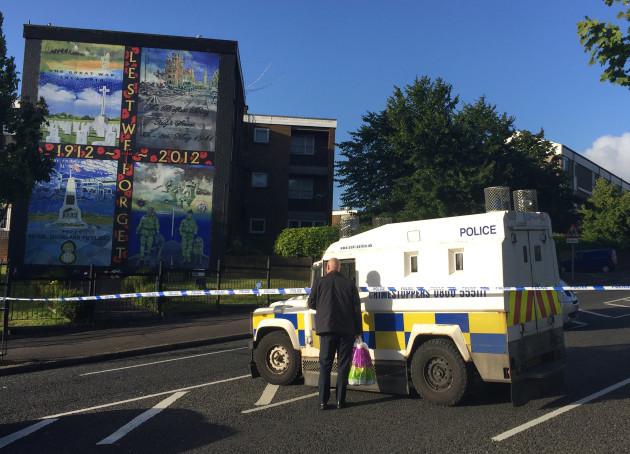 North Belfast shooting