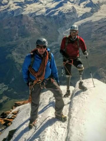Switzerland Amputee Climber