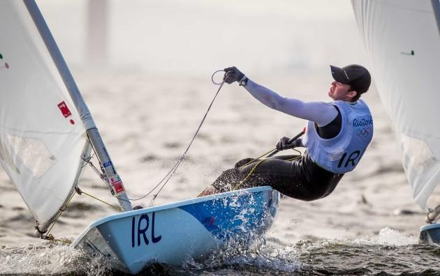 Finn Lynch in action in Guanabara Bay
