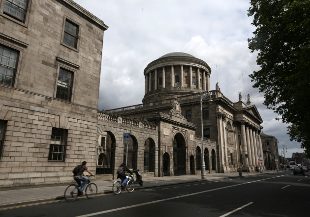 20/08/2014 Dublin Scenes. Pictured the Four Courts