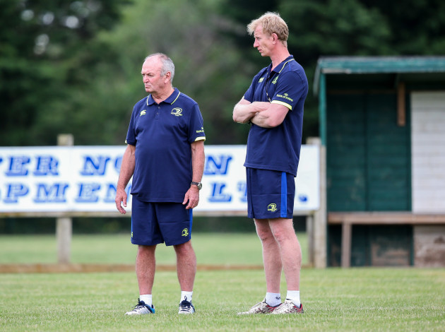 Graham Henry and Leo Cullen