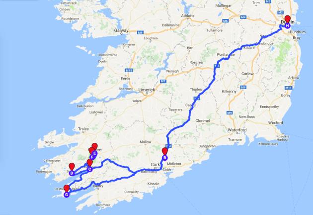 My Best Road Trip A Kid Friendly Drive Through Kenmare Killarney