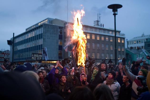 ICELAND ECONOMY PROTESTS