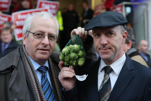Irish Farmers Association protest