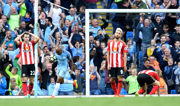 Manchester City v Sunderland - Premier League - Etihad Stadium