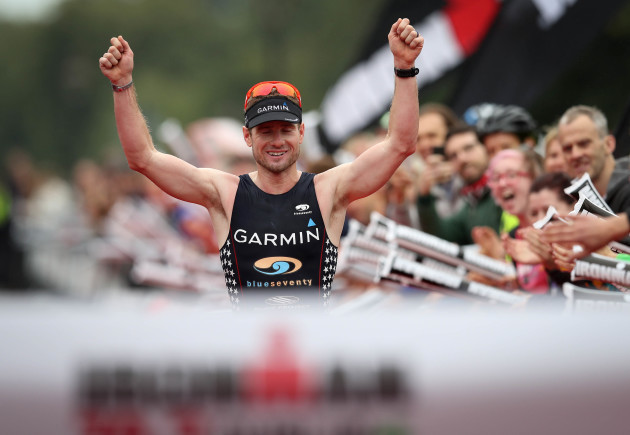 Ben Collins wins The IRONMAN 70.3 Dublin