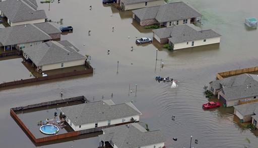 APTOPIX Deep South Flooding