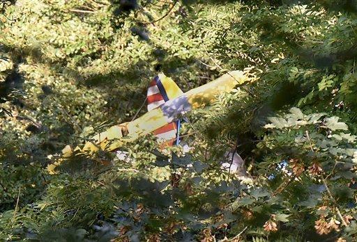 Germany Small Plane Crash