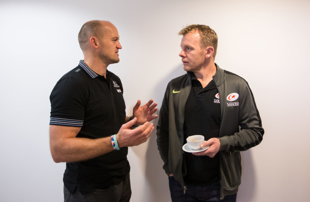 Gregor Townsend and Mark McCall
