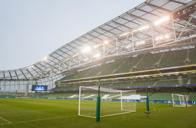 A view of the Dublin Stadium ahead of the game