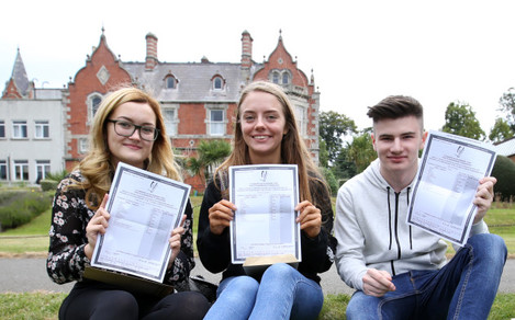 17/8/2016 Celebrating Leaving Certificate Results