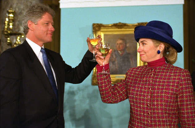 President and Mrs. Clinton - Congressional Luncheon
