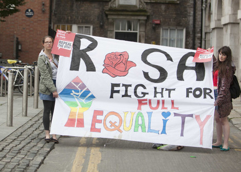 6/7/2015. Pro Choice Protest At Dublin City Hall i