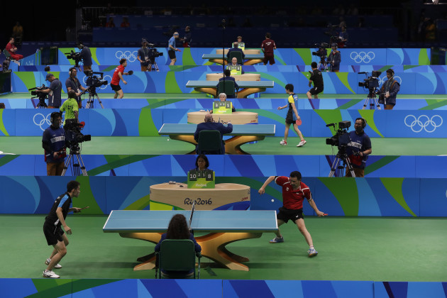 Rio Olympics Table Tennis Women