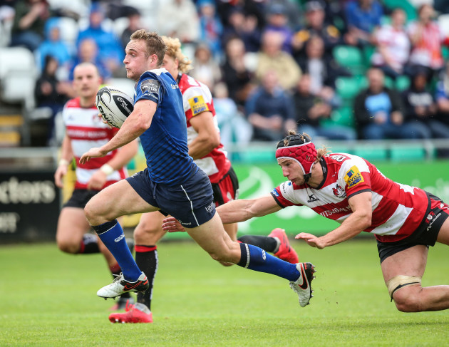 Nick McCarthy runs in for a try