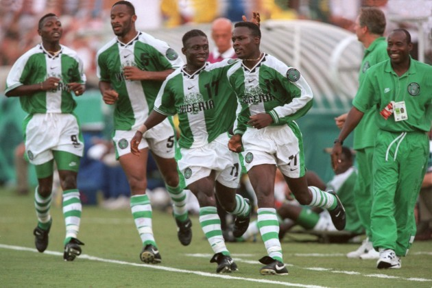 Atlanta Olympic Games -Soccer Brazil v Nigeria