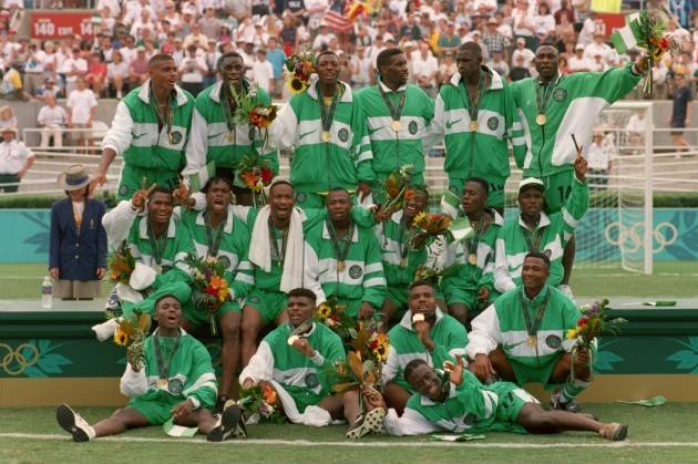 Atlanta Olympic Games .... Soccer Final - Argentina v Nigeria