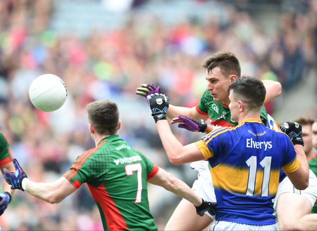 Barry Moran and Patrick Durcan with Michael Quinlivan