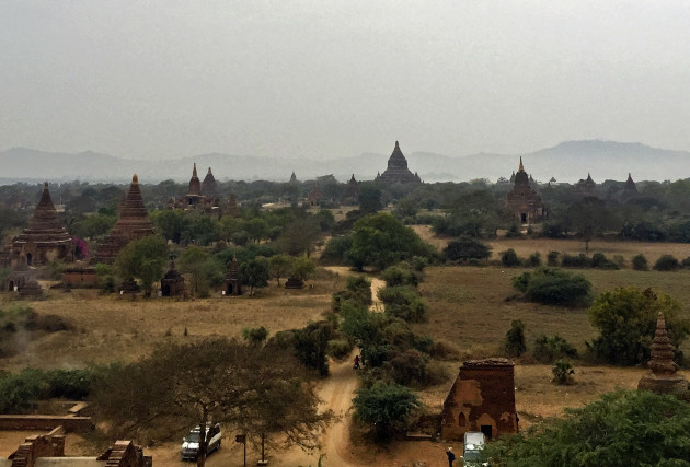 Two children have died and 60 ancient temples have been
