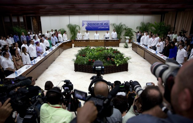 Cuba Colombia Peace Talks
