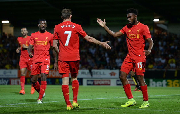 Burton Albion v Liverpool - EFL Cup - Second Round - Pirelli Stadium