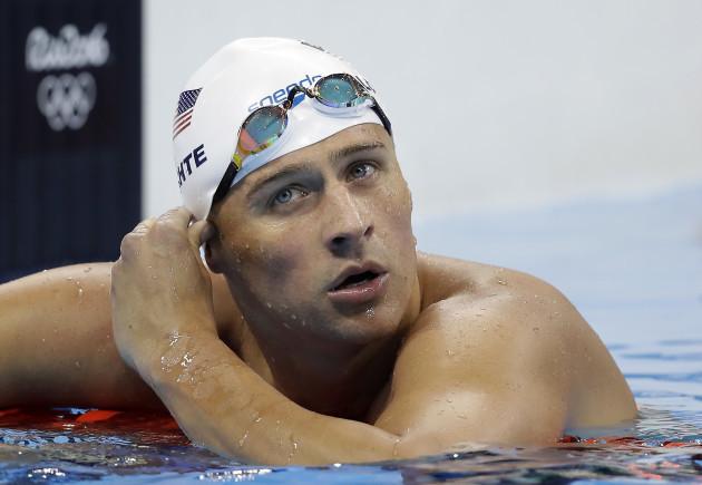 Rio Olympics Lochte Swimming