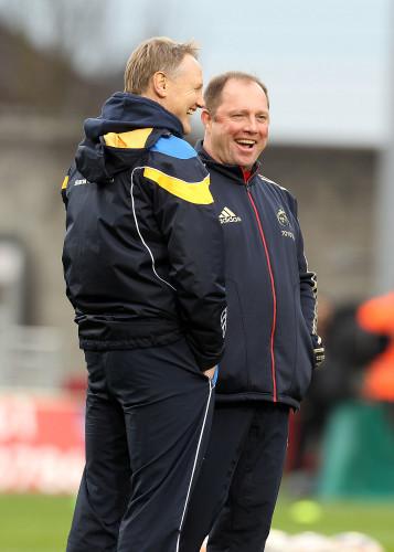 Tony McGahan with Joe Schmidt